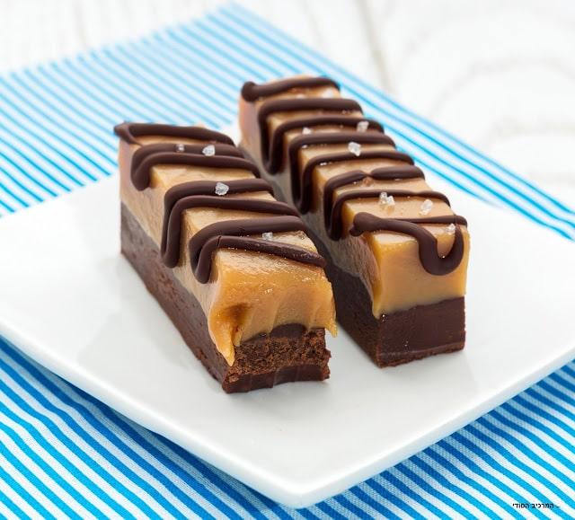פאדג' שוקולד וחמאת בוטנים