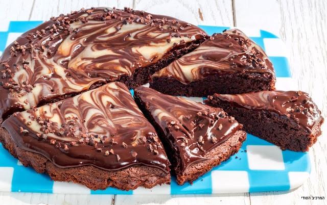 עוגת שוקולד וקפה כשרה לפסח