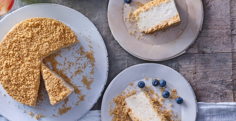 עוגת גבינה פירורים טבעונית