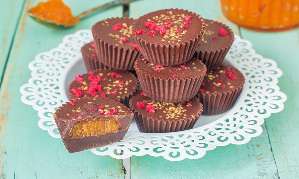 פרלין שוקולד טבעוני במילוי מפתיע