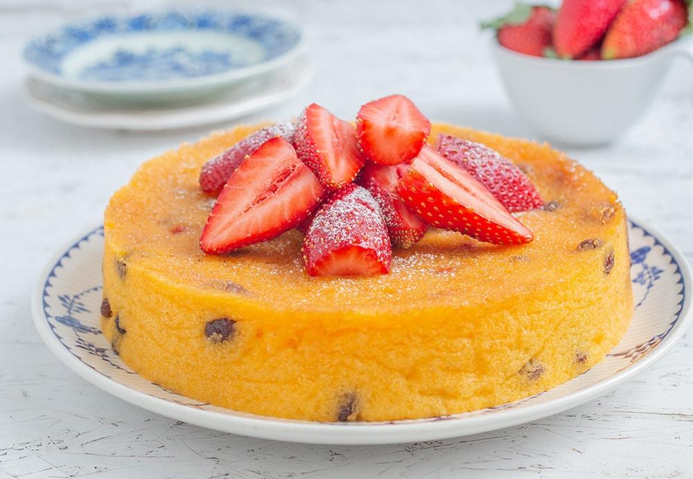 עוגת פולנטה טבעונית