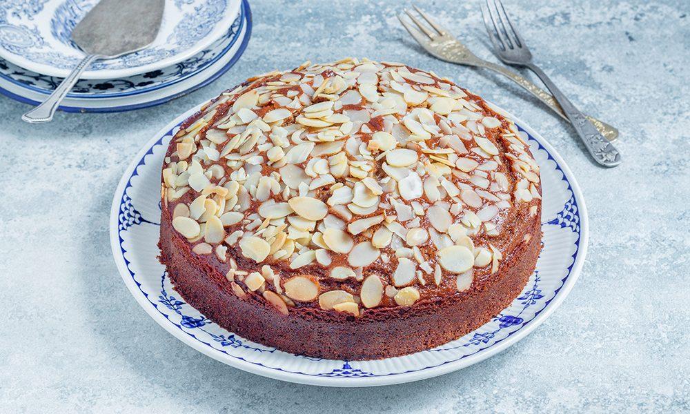 עוגת סילאן טבעונית מקמח כוסמין