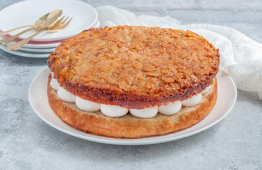 עוגת עקיצת דבורה טבעונית