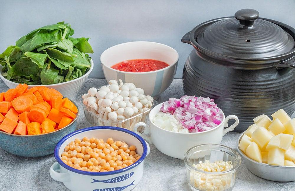 תבשיל טבעוני חורפי מושלם ללא גלוטן