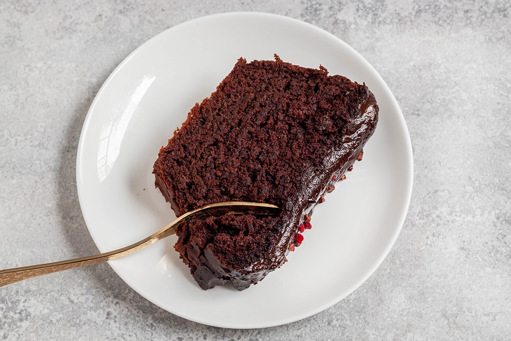 עוגת שוקולד טבעונית פשוטה