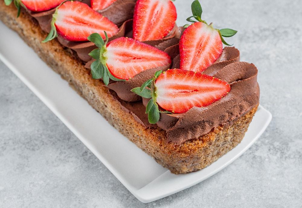 עוגת שקדים-קוקוס טבעונית כשרה לפסח