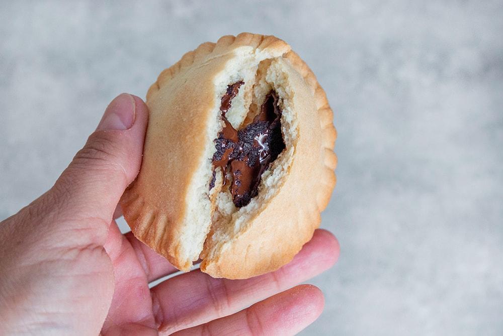 פופ טארט טבעוני פריך עם שוקולד